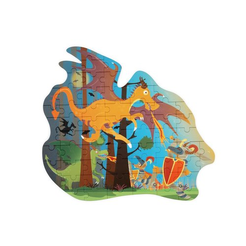 Puzzle enfant Dragon - 61 pcs1